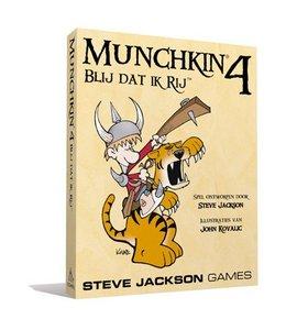 Steve Jackson Games Munchkin 4 NL - Blij Dat Ik Rij