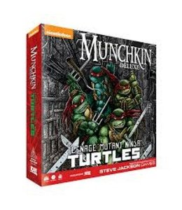 IDW Games Munchkin Teenage Mutant Ninja Turtles