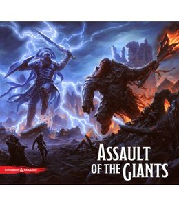 Wizkids Dungeons & Dragons Assault of the Giants Board Game