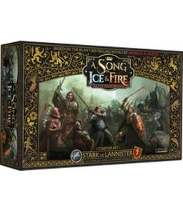 Cool Mini Or Not A Song of Ice & Fire Stark vs Lannistar Starter Set