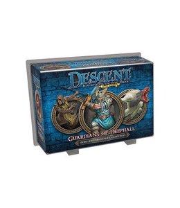 Fantasy Flight Games Descent Journeys in the Dark Guardians of Deephall