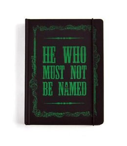 HEO Harry Potter A5 Notebook Voldemort