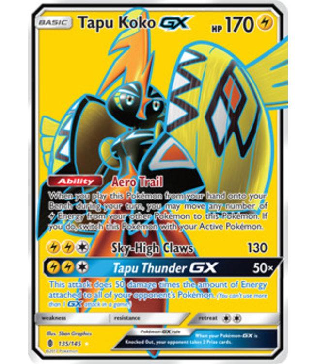 Pokemon Tapu Koko GX - S&M GuRi 135/145