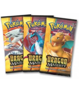Pokemon Dragon Majesty Booster
