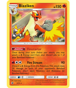 Pokemon Blaziken - S&M DraMaj 6/70