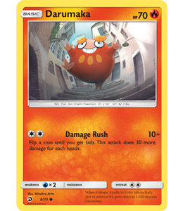 Pokemon Darumaka - S&M DraMaj 8/70 - Reverse