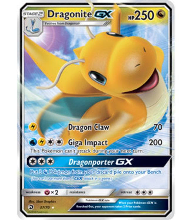 Pokemon Dragonite GX - S&M DraMaj 37/70