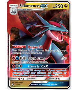 Pokemon Salamence GX - S&M DraMaj 44/70