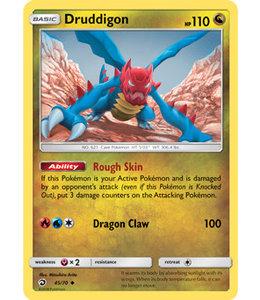 Pokemon Druddigon - S&M DraMaj 45/70 - Reverse