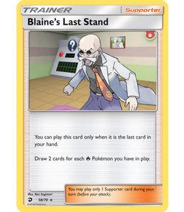 Pokemon Blaine's Last Stand - S&M DraMaj 58/70