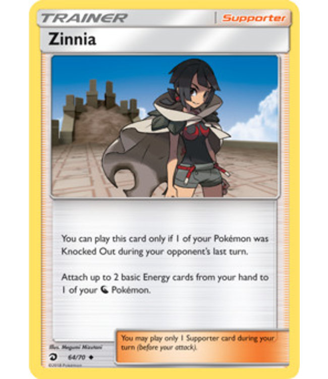 Pokemon Zinnia - S&M DraMaj 64/70 - Reverse