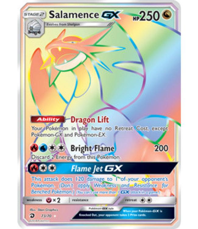 Pokemon Salamence GX - S&M DraMaj 73/70