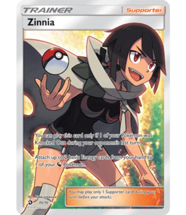 Pokemon Zinnia - S&M DraMaj 70/70