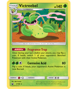 Pokemon Victreebel - S&M CeSt 3/168