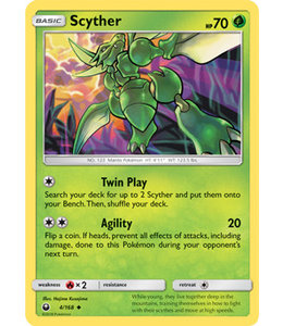Pokemon Scyther - S&M CeSt 4/168