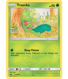 Pokemon Treecko - S&M CeSt 7/168 - Reverse