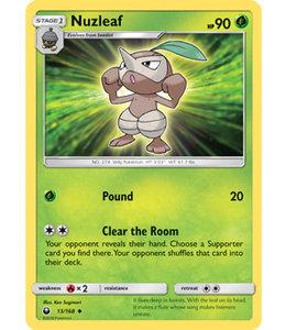Pokemon Nuzleaf - S&M CeSt 13/168 - Reverse