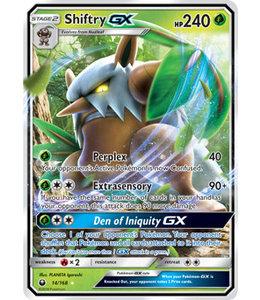 Pokemon Shiftry GX - S&M CeSt 14/168