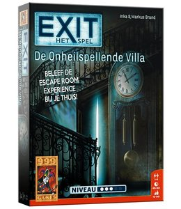 999 Games EXIT - De Onheilspellende Villa - Breinbreker