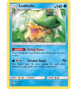 Pokemon Ludicolo - S&M CeSt 38/168 - Reverse