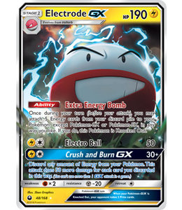 Pokemon Electrode GX - S&M CeSt 48/168