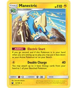 Pokemon Manectric - S&M CeSt 52/168 - Reverse