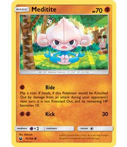 Pokemon Meditite - S&M CeSt 76/168 - Reverse