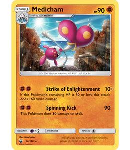 Pokemon Medicham - S&M CeSt 77/168 - Reverse