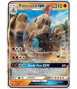 Pokemon Palossand GX - S&M CeSt 82/168