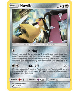 Pokemon Mawile - S&M CeSt 91/168