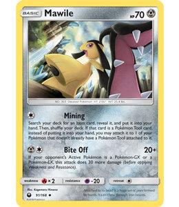 Pokemon Mawile - S&M CeSt 91/168 - Reverse