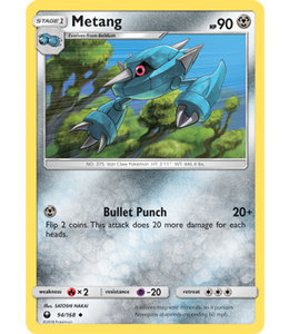 Pokemon Metang - S&M CeSt 94/168 - Reverse