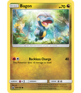 Pokemon Bagon - S&M CeSt 104/168