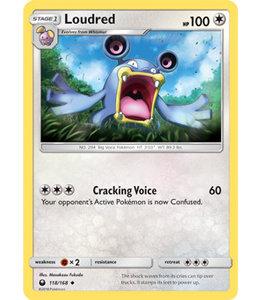 Pokemon Loudred - S&M CeSt 118/168