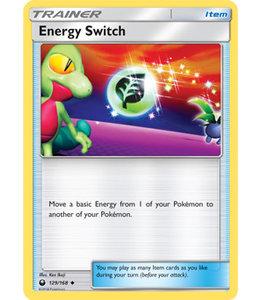 Pokemon Energy Switch - S&M CeSt 129/168 - Reverse