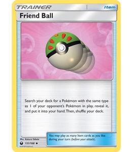Pokemon Friend Ball - S&M CeSt 131/168 - Reverse