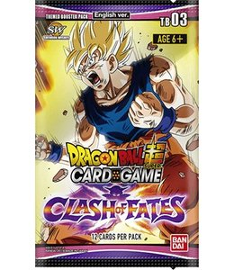 DragonBall Super Dragon Ball Themed Booster pack 3