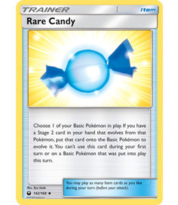 Pokemon Rare Candy - S&M CeSt 142/168