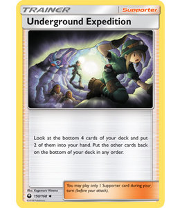 Pokemon Underground Expedition - S&M CeSt 150/168 - Reverse