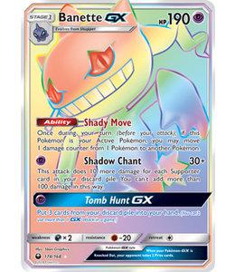 Pokemon Banette GX - S&M CeSt 174/168