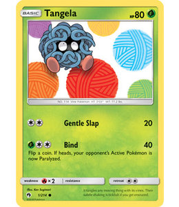 Pokemon Tangela - S&M LoThu - 1/214 - Reverse