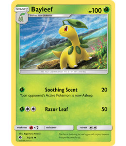 Pokemon Bayleef - S&M LoThu - 7/214