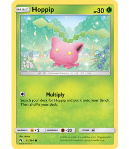 Pokemon Hoppip - S&M LoThu - 11/214 - Reverse