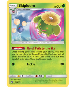 Pokemon Skiploom - S&M LoThu - 13/214 - Reverse