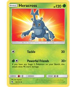 Pokemon Heracross - S&M LoThu - 18/214 - Reverse