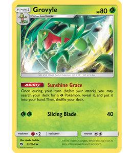 Pokemon Grovyle - S&M LoThu - 21/214 - Reverse