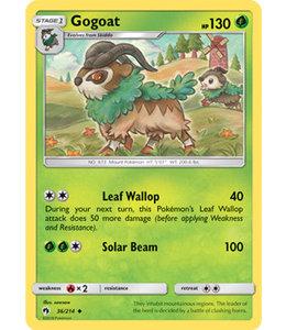 Pokemon Gogoat - S&M LoThu - 36/214 - Reverse