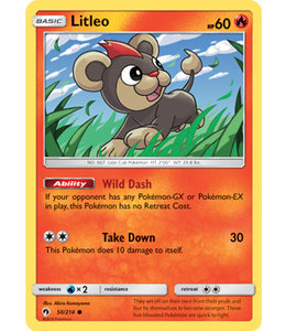 Pokemon Litleo - S&M LoThu - 50/214
