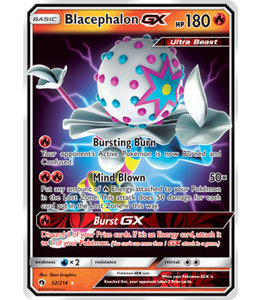 Pokemon Blacephalon GX - S&M LoThu - 52/214