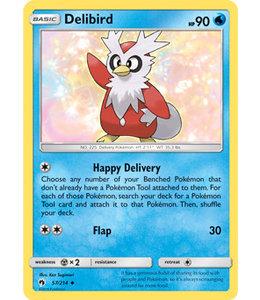 Pokemon Delibird - S&M LoThu - 57/214 - Reverse